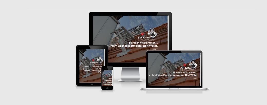Webdesign_Dachdeckermeister Bert Woeller_by ziiiegler DESIGN